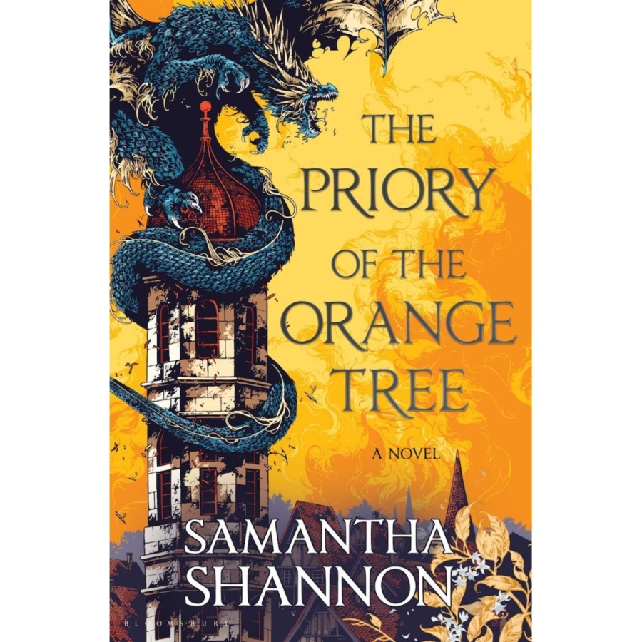 Reading Samantha Shannon's The Priory of the Orange Tree